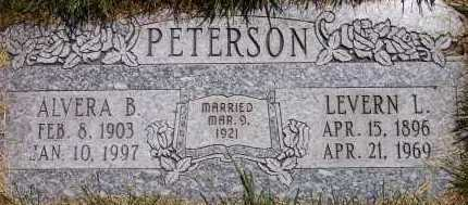 PETERSON, LEVERN LENUS - Salt Lake County, Utah | LEVERN LENUS PETERSON - Utah Gravestone Photos