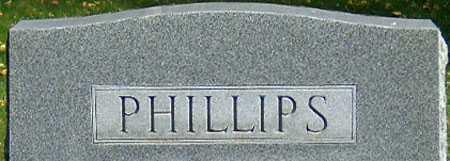 PHILLIPS, FAMILY - Salt Lake County, Utah | FAMILY PHILLIPS - Utah Gravestone Photos