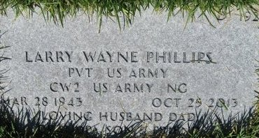 PHILLIPS, LARRY WAYNE - Salt Lake County, Utah | LARRY WAYNE PHILLIPS - Utah Gravestone Photos