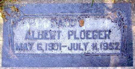 PLOEGER, ALBERT - Salt Lake County, Utah | ALBERT PLOEGER - Utah Gravestone Photos