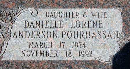 ANDERSON, DANIELLE LORENE - Salt Lake County, Utah | DANIELLE LORENE ANDERSON - Utah Gravestone Photos
