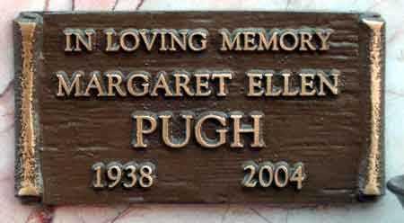 PUGH, MARGARET ELLEN - Salt Lake County, Utah   MARGARET ELLEN PUGH - Utah Gravestone Photos