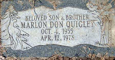QUIGLEY, MARLON DON - Salt Lake County, Utah | MARLON DON QUIGLEY - Utah Gravestone Photos