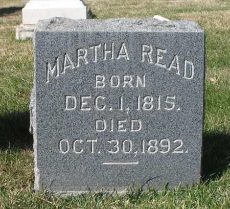MONROE READ, MARTHA - Salt Lake County, Utah | MARTHA MONROE READ - Utah Gravestone Photos