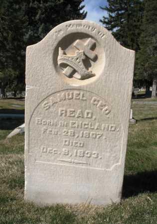 READ, SAMUEL GEORGE - Salt Lake County, Utah | SAMUEL GEORGE READ - Utah Gravestone Photos