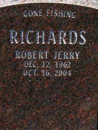 RICHARDS, ROBERT JERRY - Salt Lake County, Utah | ROBERT JERRY RICHARDS - Utah Gravestone Photos