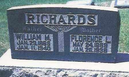 RICHARDS, FLORENCE LETTY - Salt Lake County, Utah | FLORENCE LETTY RICHARDS - Utah Gravestone Photos