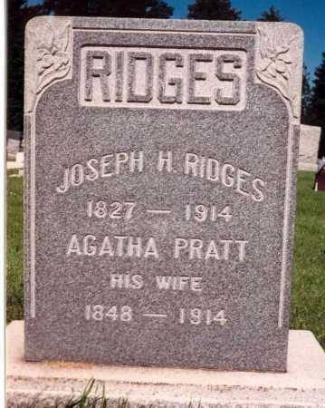 PRATT RIDGES, AGATHA - Salt Lake County, Utah | AGATHA PRATT RIDGES - Utah Gravestone Photos
