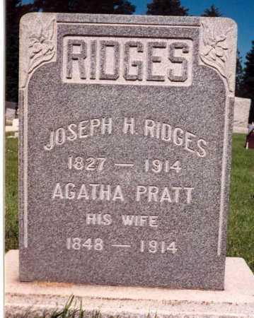 RIDGES, AGATHA - Salt Lake County, Utah | AGATHA RIDGES - Utah Gravestone Photos