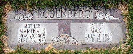 ROSENBERG, MAX F. - Salt Lake County, Utah | MAX F. ROSENBERG - Utah Gravestone Photos