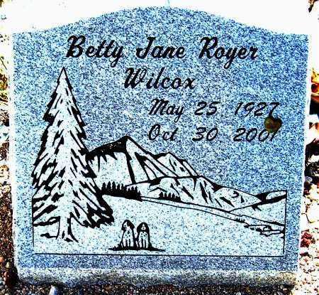 WILCOX, BETTY JANE - Salt Lake County, Utah | BETTY JANE WILCOX - Utah Gravestone Photos