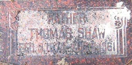 SHAW, THOMAS - Salt Lake County, Utah   THOMAS SHAW - Utah Gravestone Photos
