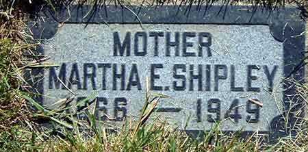 BICKMORE SHIPLEY, MARTHA ELIZABETH - Salt Lake County, Utah | MARTHA ELIZABETH BICKMORE SHIPLEY - Utah Gravestone Photos
