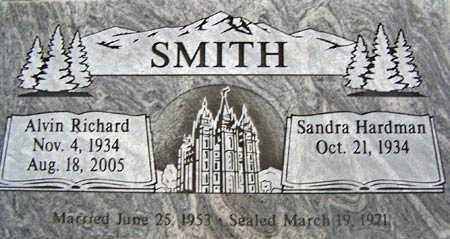 SMITH, ALVIN RICHARD - Salt Lake County, Utah | ALVIN RICHARD SMITH - Utah Gravestone Photos