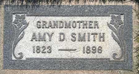 SMITH, AMY EMILY - Salt Lake County, Utah | AMY EMILY SMITH - Utah Gravestone Photos