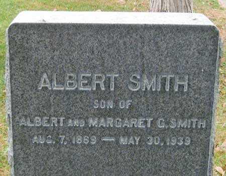 SMITH, ALBERT GARDNER - Salt Lake County, Utah | ALBERT GARDNER SMITH - Utah Gravestone Photos
