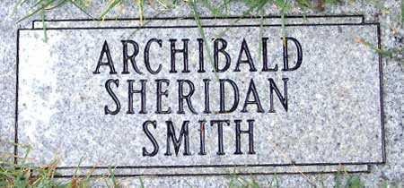 SMITH, ARCHIBALD SHERIDAN - Salt Lake County, Utah | ARCHIBALD SHERIDAN SMITH - Utah Gravestone Photos