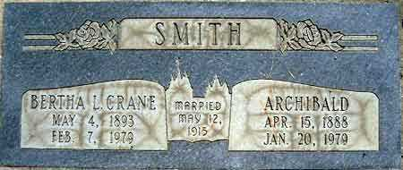SMITH, ARCHIBALD - Salt Lake County, Utah | ARCHIBALD SMITH - Utah Gravestone Photos