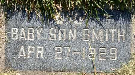 SMITH, BABY SON OF PARLEY PRATT - Salt Lake County, Utah | BABY SON OF PARLEY PRATT SMITH - Utah Gravestone Photos