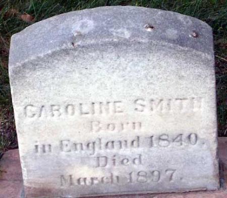 SMITH, CAROLINE - Salt Lake County, Utah | CAROLINE SMITH - Utah Gravestone Photos