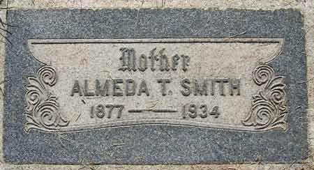 SMITH, CLARISSA ALMEDA - Salt Lake County, Utah   CLARISSA ALMEDA SMITH - Utah Gravestone Photos