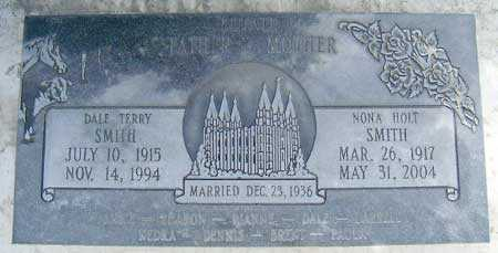 SMITH, DALE TERRY - Salt Lake County, Utah | DALE TERRY SMITH - Utah Gravestone Photos