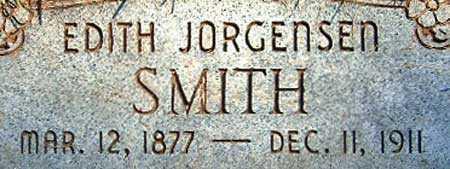JORGENSEN, EDITH - Salt Lake County, Utah | EDITH JORGENSEN - Utah Gravestone Photos