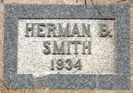 SMITH, HERMAN BURGON - Salt Lake County, Utah | HERMAN BURGON SMITH - Utah Gravestone Photos