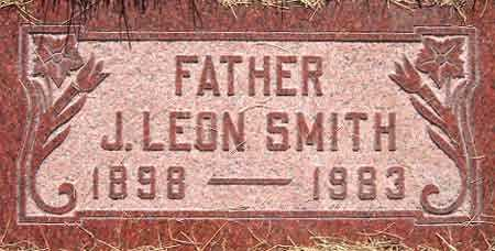 SMITH, JOSEPH LEON - Salt Lake County, Utah | JOSEPH LEON SMITH - Utah Gravestone Photos