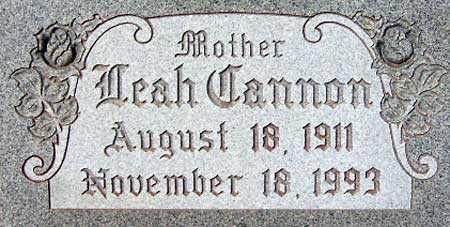 SMITH, LEAH - Salt Lake County, Utah | LEAH SMITH - Utah Gravestone Photos