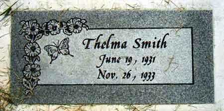 SMITH, THELMA - Salt Lake County, Utah | THELMA SMITH - Utah Gravestone Photos