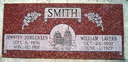 JORGENSEN, JENNIEV - Salt Lake County, Utah | JENNIEV JORGENSEN - Utah Gravestone Photos