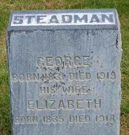 STEADMAN, ELIZABETH - Salt Lake County, Utah | ELIZABETH STEADMAN - Utah Gravestone Photos