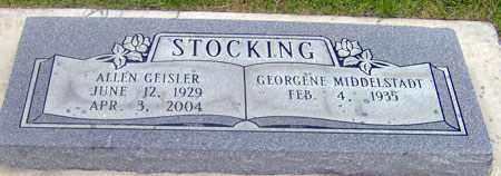 STOCKING, GEORGENE - Salt Lake County, Utah | GEORGENE STOCKING - Utah Gravestone Photos