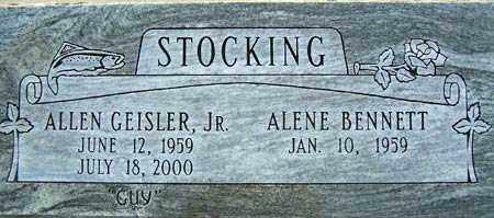 STOCKING, ALLEN GEISLER, JR. - Salt Lake County, Utah | ALLEN GEISLER, JR. STOCKING - Utah Gravestone Photos