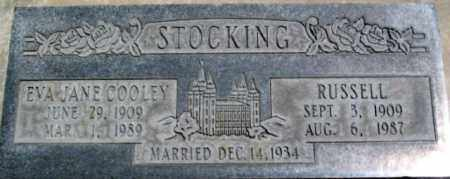 STOCKING, RUSSELL - Salt Lake County, Utah | RUSSELL STOCKING - Utah Gravestone Photos