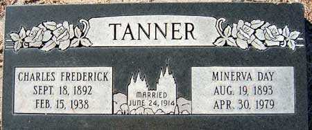 TANNER, CHARLES FREDERICK - Salt Lake County, Utah | CHARLES FREDERICK TANNER - Utah Gravestone Photos