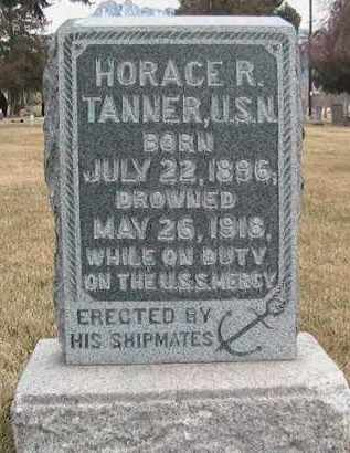 TANNER, HORACE R - Salt Lake County, Utah | HORACE R TANNER - Utah Gravestone Photos