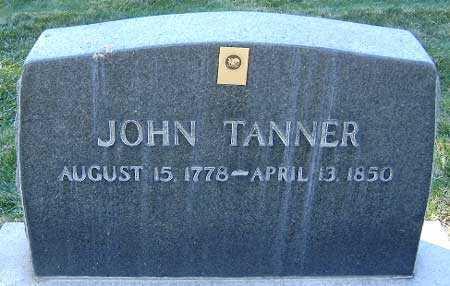 TANNER, JOHN - Salt Lake County, Utah | JOHN TANNER - Utah Gravestone Photos