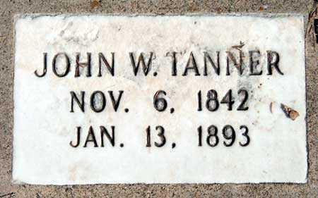 TANNER, JOHN WILLIAM, SR. - Salt Lake County, Utah | JOHN WILLIAM, SR. TANNER - Utah Gravestone Photos