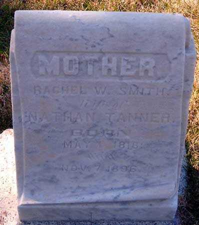 TANNER, RACHEL WINTER - Salt Lake County, Utah | RACHEL WINTER TANNER - Utah Gravestone Photos