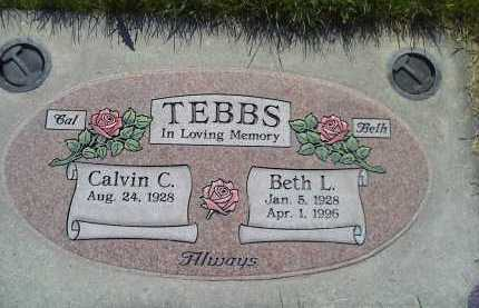 MONSEN TEBBS, BETH LUJEAN - Salt Lake County, Utah | BETH LUJEAN MONSEN TEBBS - Utah Gravestone Photos