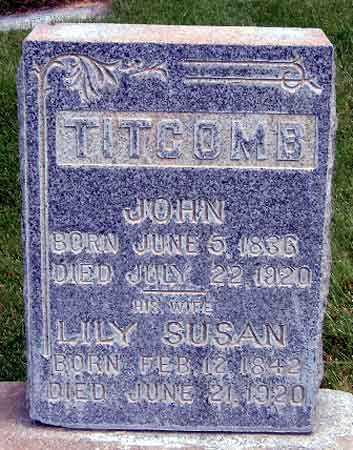 WALPOLE, LILY SUSAN - Salt Lake County, Utah | LILY SUSAN WALPOLE - Utah Gravestone Photos
