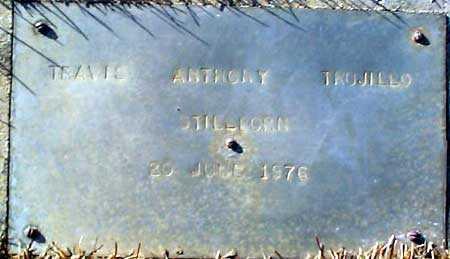 TRUJILLO, TRAVIS ANTHONY - Salt Lake County, Utah | TRAVIS ANTHONY TRUJILLO - Utah Gravestone Photos