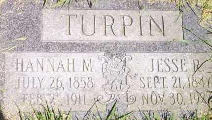 TURPIN, HANNAN MARIA - Salt Lake County, Utah | HANNAN MARIA TURPIN - Utah Gravestone Photos