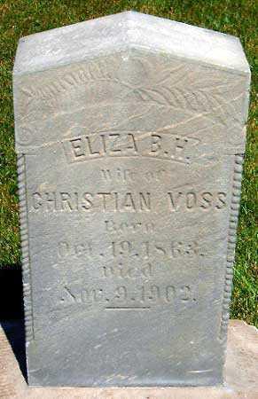 HERBST, ELIZA - Salt Lake County, Utah | ELIZA HERBST - Utah Gravestone Photos