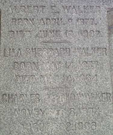 SHERRARD WALKER, LILA - Salt Lake County, Utah | LILA SHERRARD WALKER - Utah Gravestone Photos