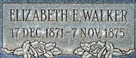 WALKER, ELIZABETH EMMA - Salt Lake County, Utah   ELIZABETH EMMA WALKER - Utah Gravestone Photos