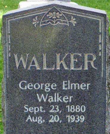 WALKER, GEORGE ELMER - Salt Lake County, Utah | GEORGE ELMER WALKER - Utah Gravestone Photos
