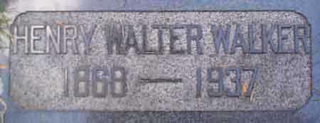 WALKER, HENRY WALTER - Salt Lake County, Utah | HENRY WALTER WALKER - Utah Gravestone Photos